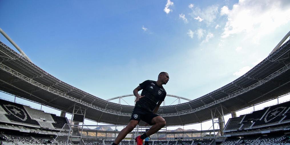 Botafogo anuncia Eduardo Freeeland como novo diretor de futebol do clube (Vitor Silva / Botafogo)