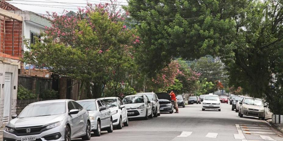 Rua da Vila Belmiro (Imagem: Reprodução / PMS - Anderson Bianchi)