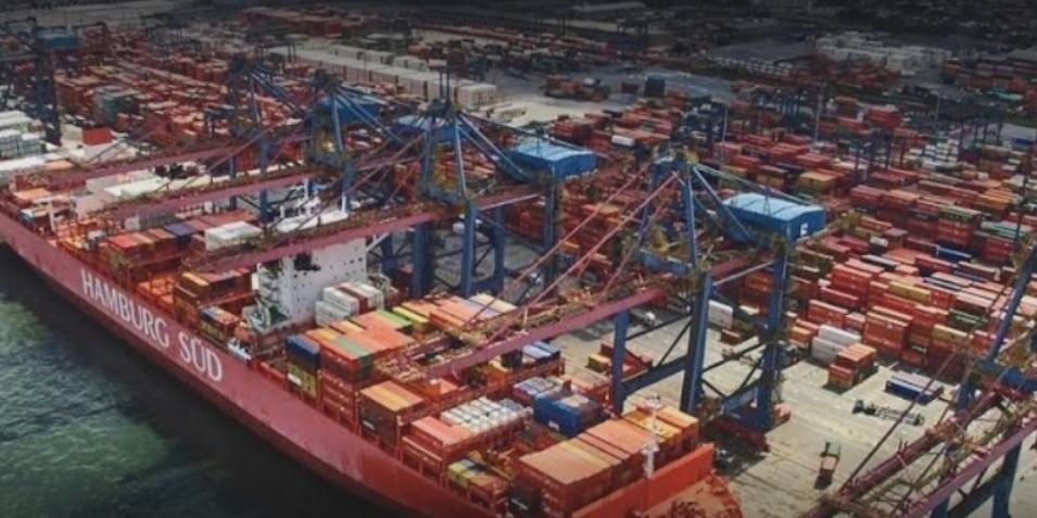 Porto de Santos é o maior do hemisfério Sul (Imagem: Reprodução / G. Maps / Copyright Marcelo Silva)