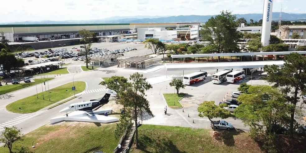 Embraer demitiu 2,5 mil funcionários nas fábricas do Brasil (Foto: Embraer/Divulgação)
