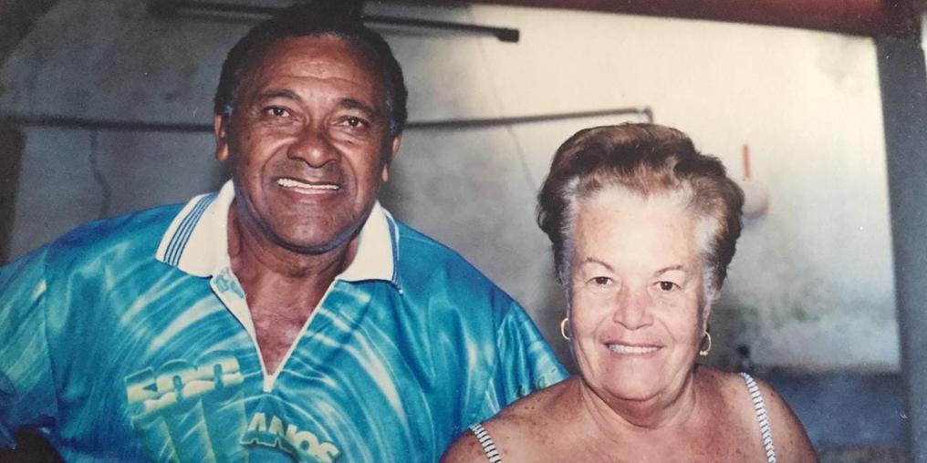 Pedrão e a esposa, Maria Casemiro (Arquivo pessoal)