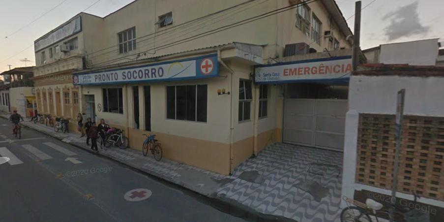 Santa Casa de Ubatuba, SP (Foto: Google Street View)