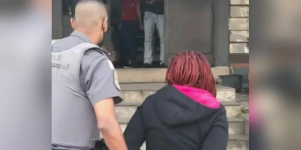 Mãe assassina é presa no Guarujá (Reprodução/Jornal O Itapema)