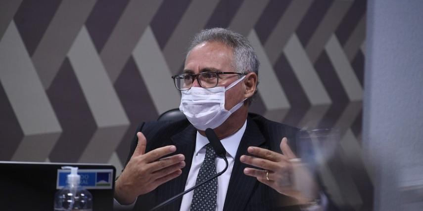 Renan Calheiros, relator da CPI da Covid (Agência Senado)