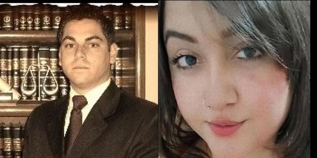 Rubens Angeli Junior e Luana Alves (Imagens: reprodução)