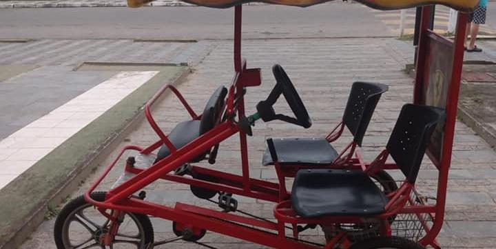 Gratificação para quem devolver a bicicleta é de R$ 200,00 (Reprodução/Redes sociais)