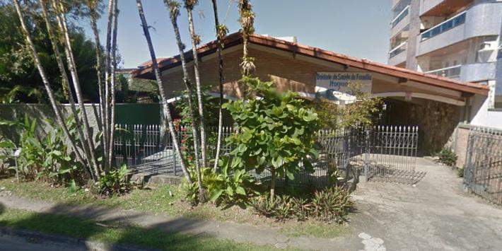 Unidade de Sáude da Família no bairro Itaguá, em Ubatuba (SP) (Foto: Google Maps)