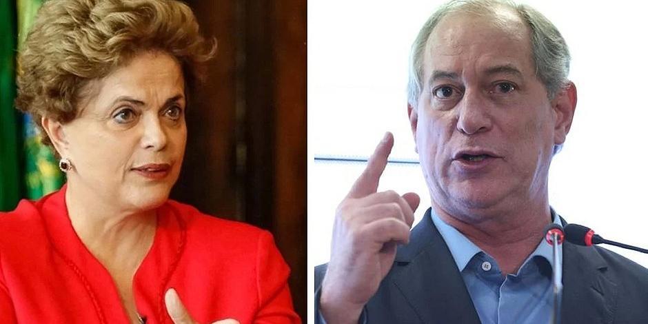 Ex-presidente travou embate com pré-candidato à Presidência da República por meio de 'alfinetadas' nas redes sociais (Divulgação/Estado de Minas)