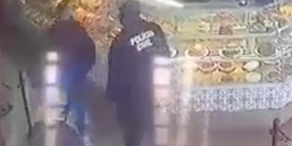 Homens disseram que estavam no local para uma investigação (Divulgação/Polícia Civil)