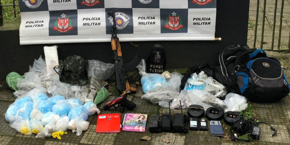 Operação força-tarefa operação para combater o tráfico de drogas e o crime organizado (Foto: Polícia Militar)