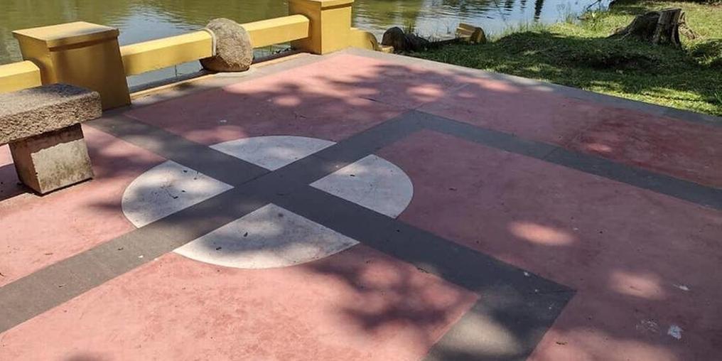 Prefeitura pretende não modificar a pintura (Reprodução)